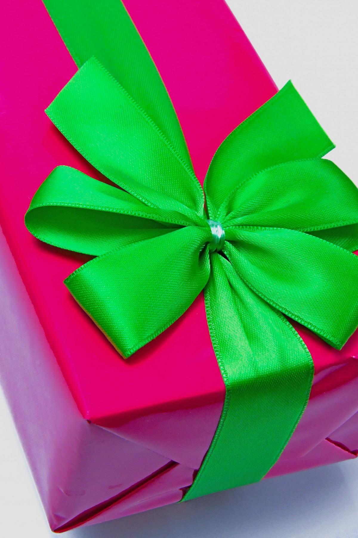 Gratis Afbeeldingen Gift Doos Roze Dag Achtergrond Geisoleerd