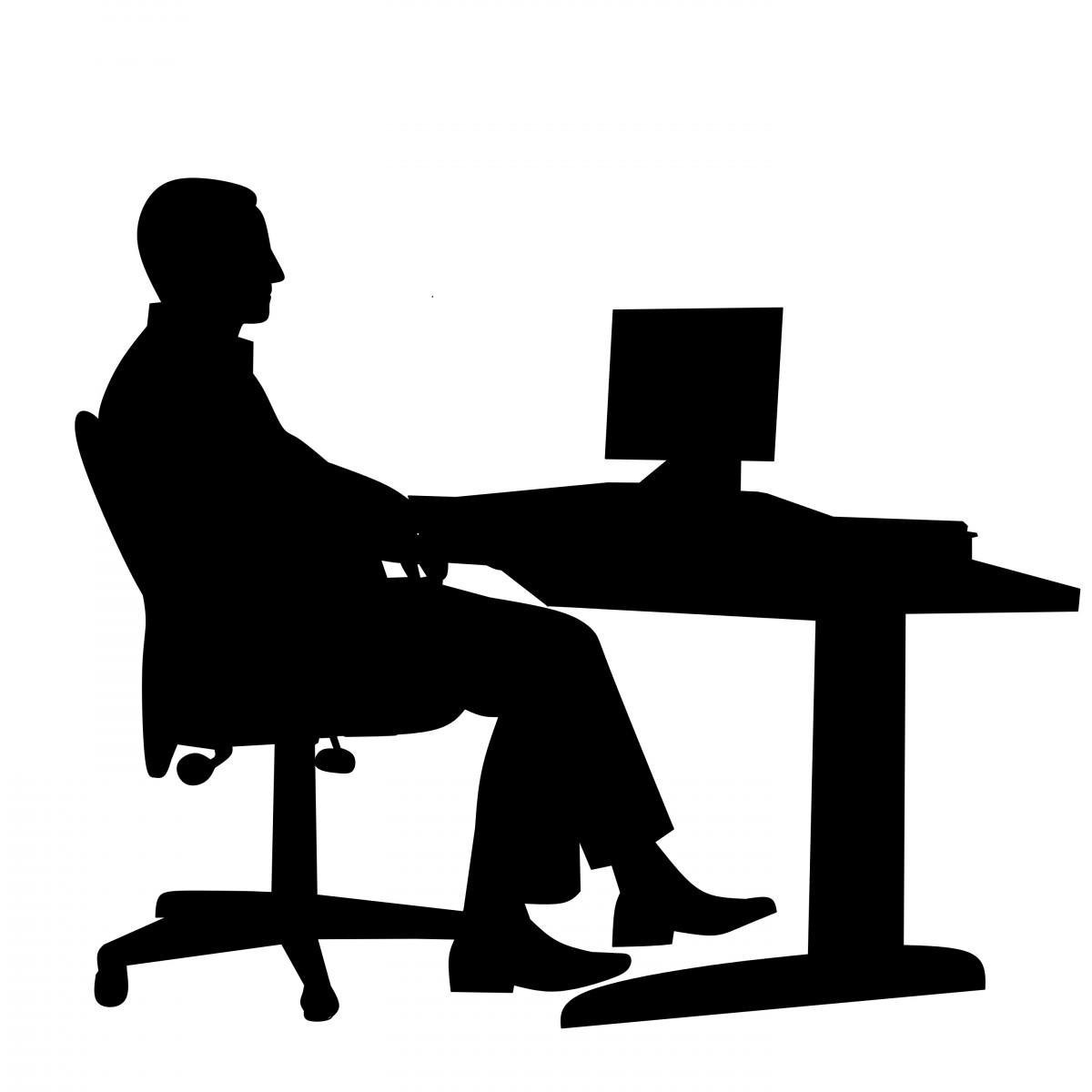 Free Images : business, chair, computer, desk, desktop ...