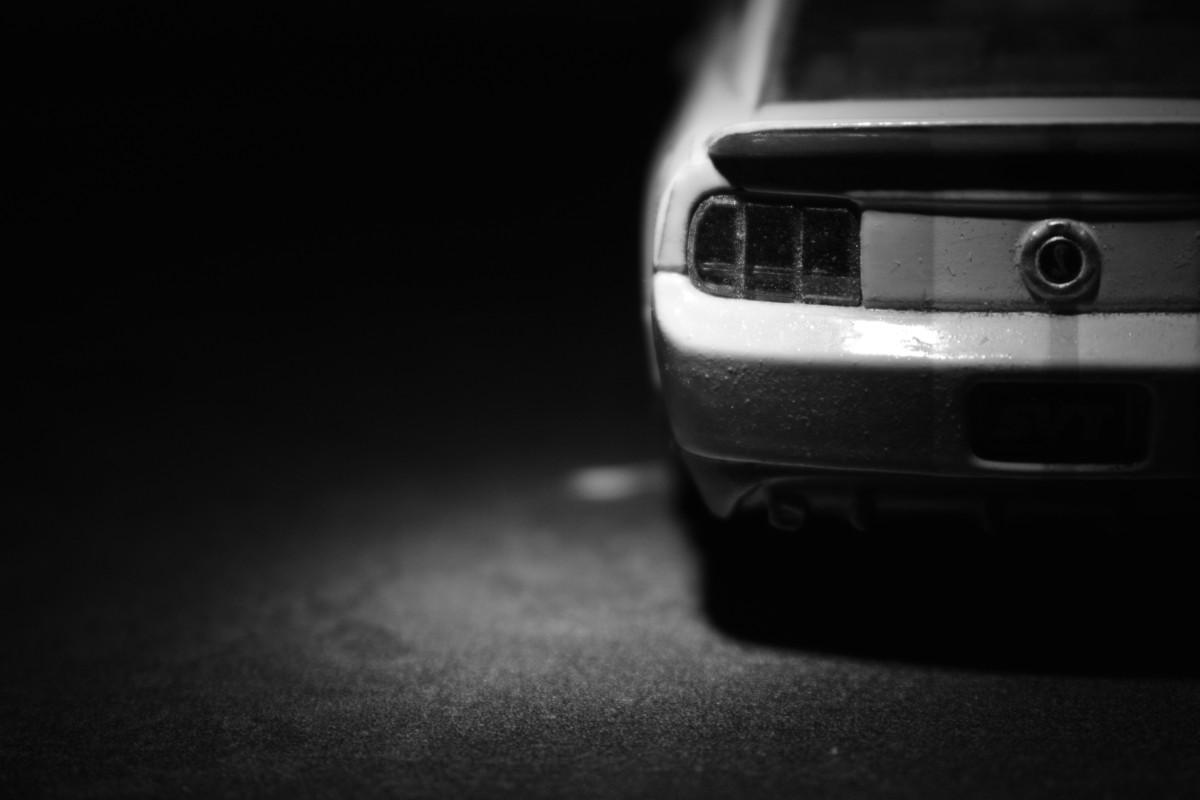 Darmowe Zdjęcia Niski Klucz Mustang Toy Czarny I Biały