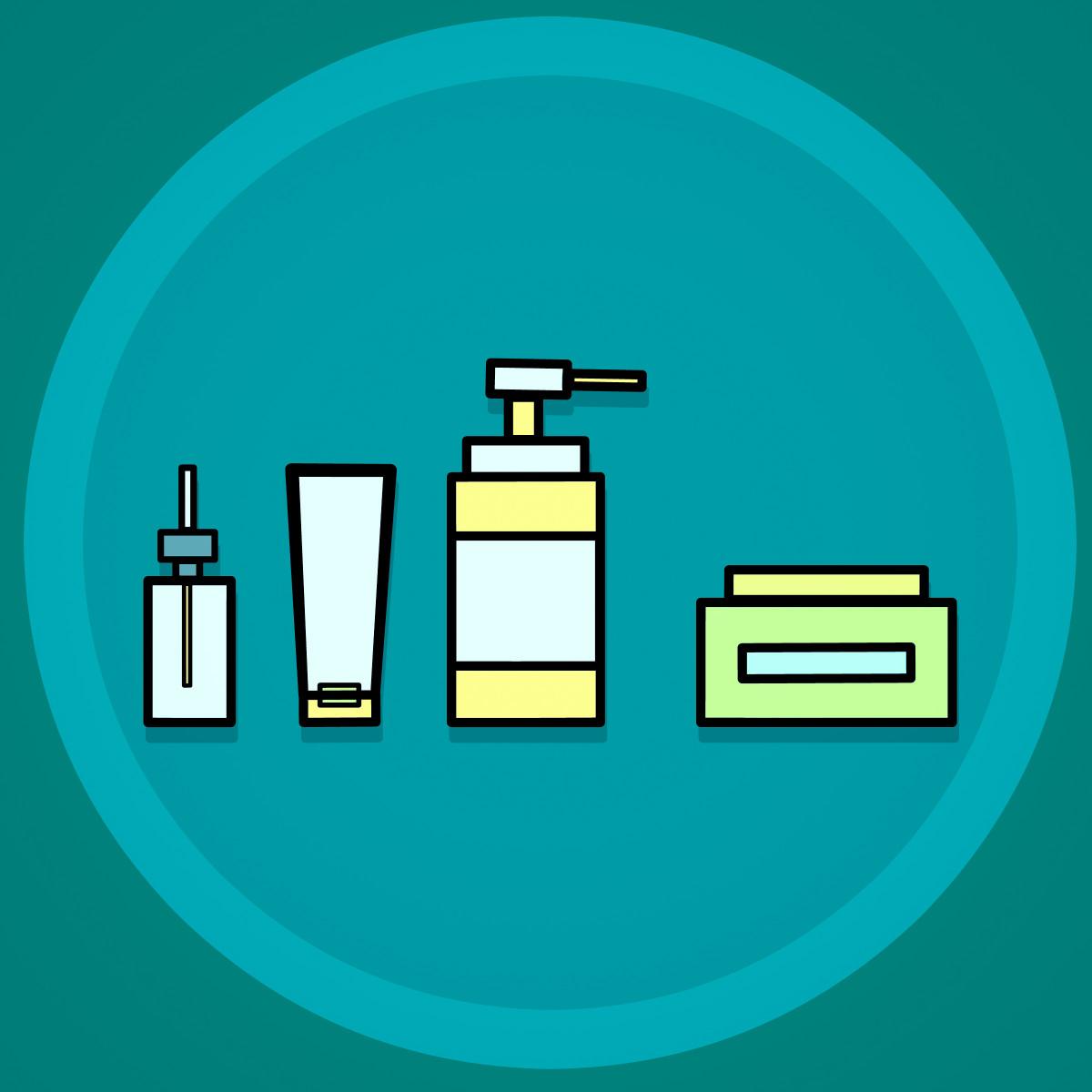 images gratuites soin de la peau produits de beaut une baignoire cr me bouteilles. Black Bedroom Furniture Sets. Home Design Ideas