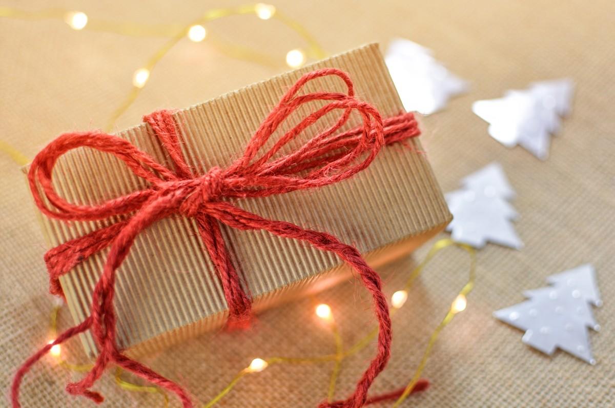 cadeau boîte Noël arc présent vacances fête surprise décoration boite cadeau Noël paquet emballage ruban