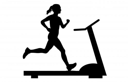 Free Images : run, treadmill, silhouette, sport, fit, man ...