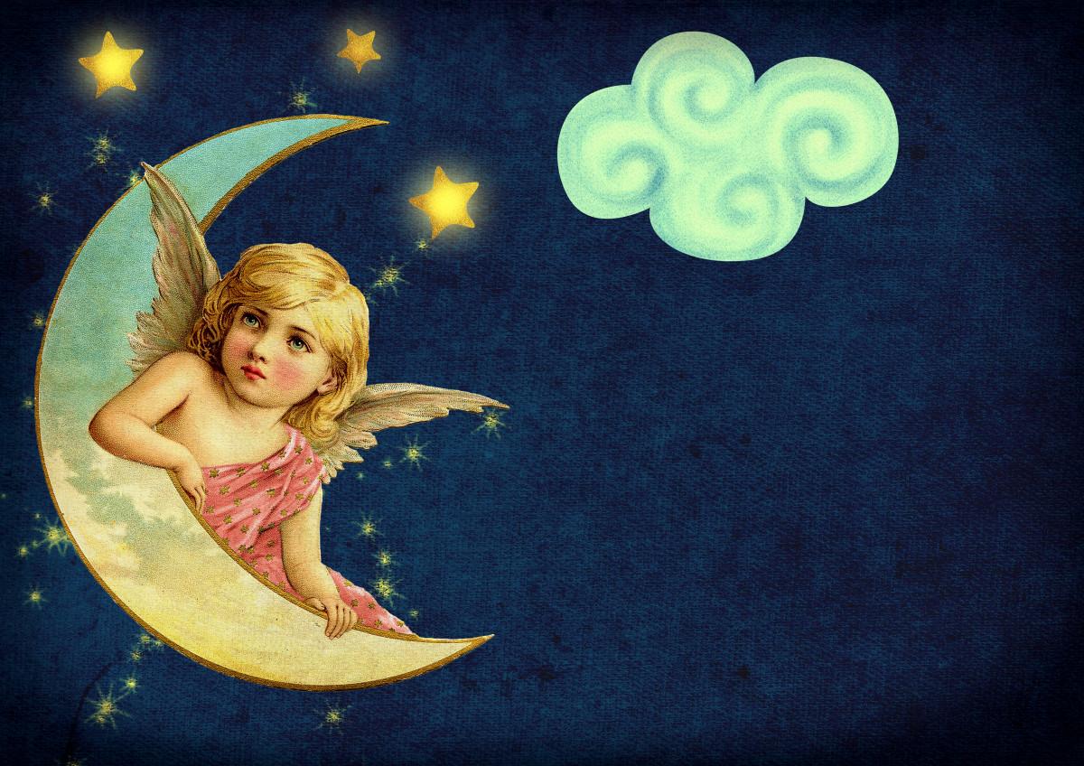 Марта бабушке, на луне открытка