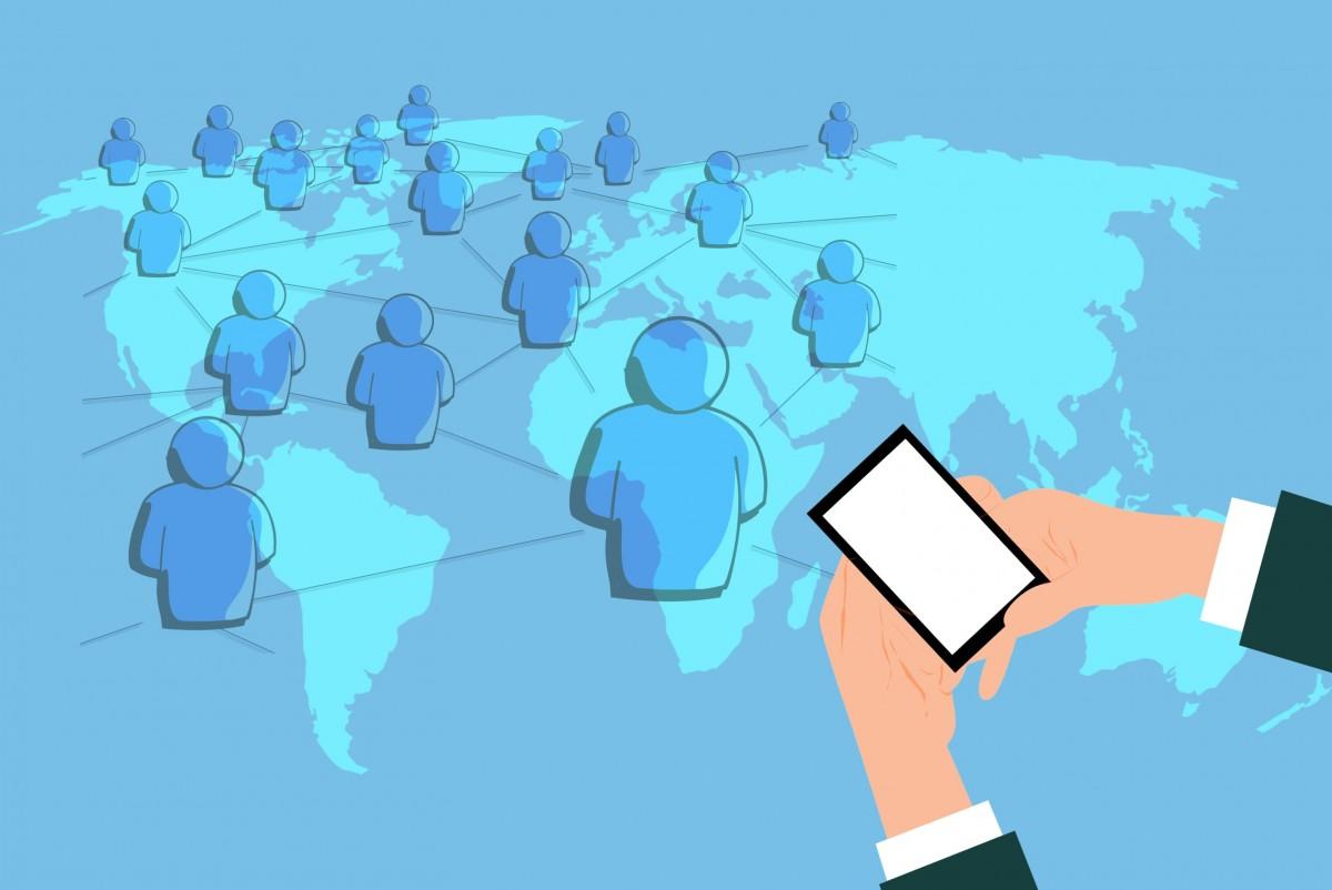 Free Images : network, digital marketing, share, mobile ...