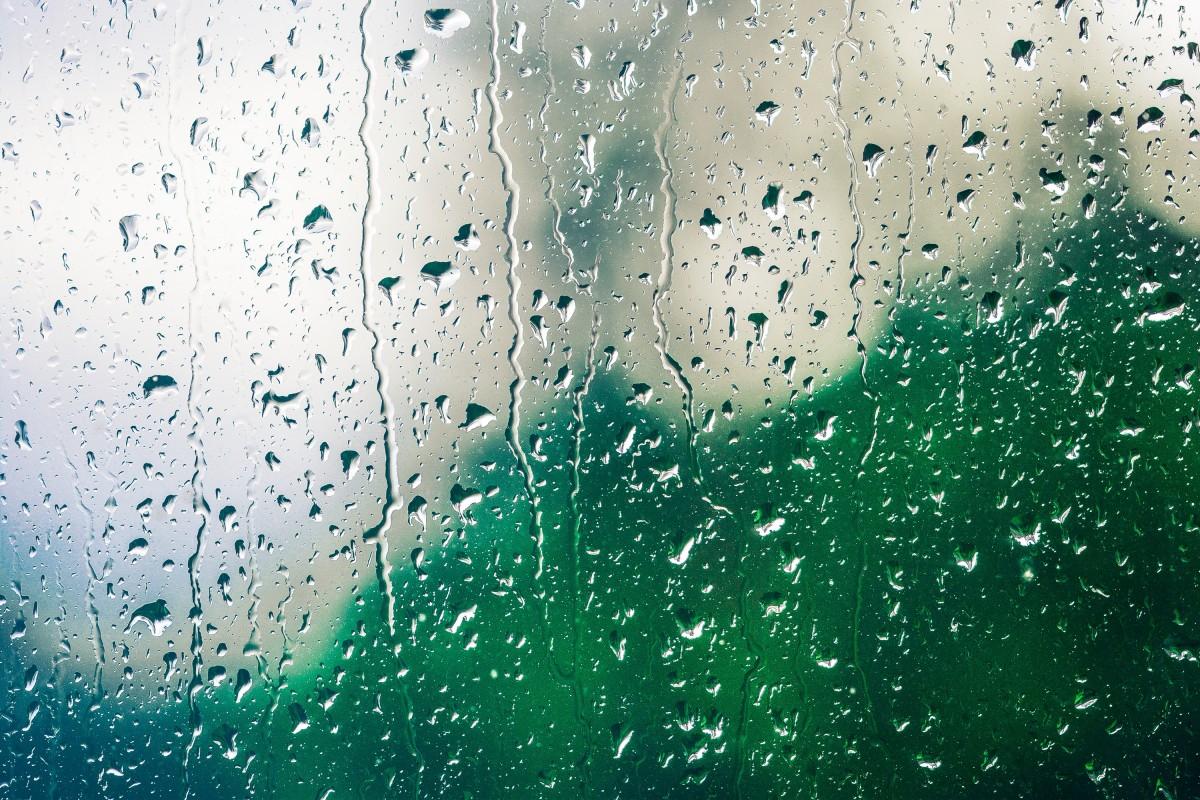 Gambar Latar Belakang Latar Belakang Tetesan Titisan Hujan