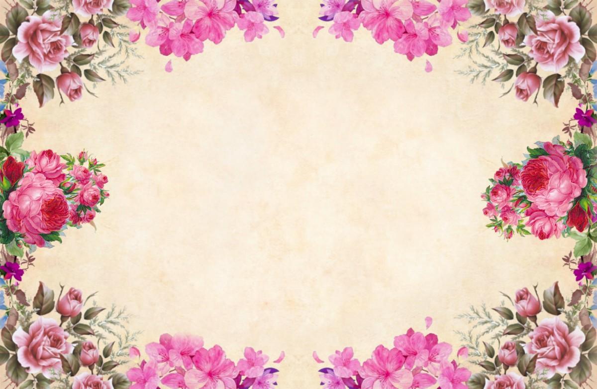 Fondo De Madera Vintage Con Flores Blancas Manzana Y: Free Images : Background, Paper, Vintage, Bouquet, Cluster
