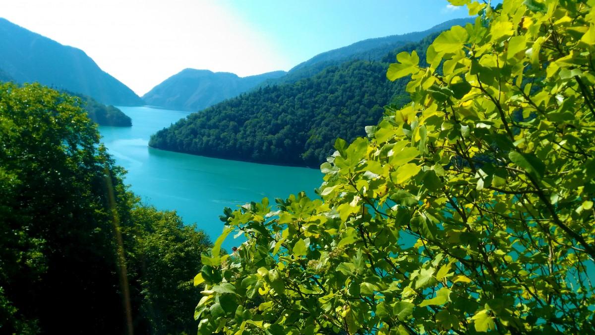 Scenic view of Georgian landscape