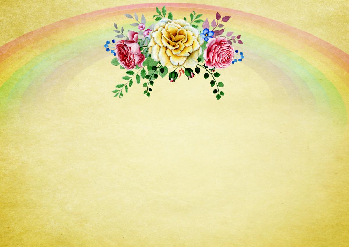 Kostenlose Foto Hintergrund Regenbogen Blumenstrauss Rosen Bunt