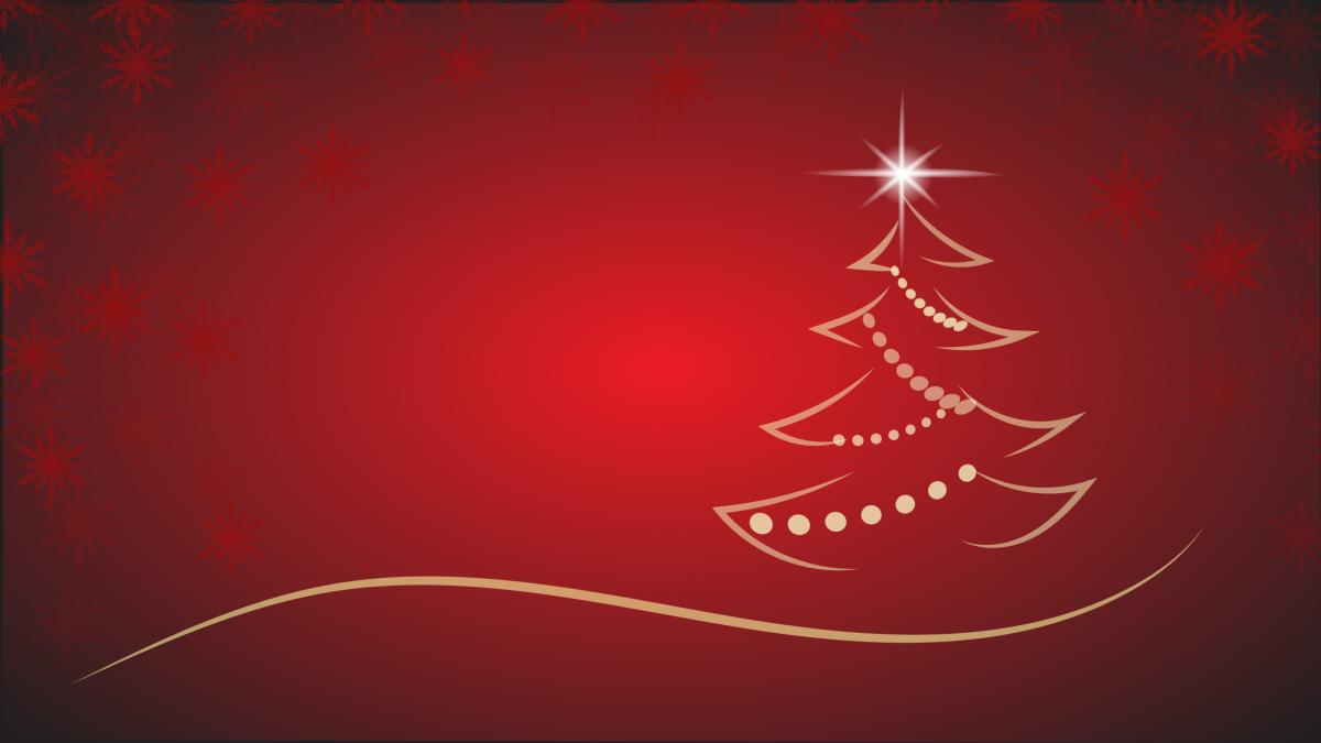 Star On The Christmas Tree