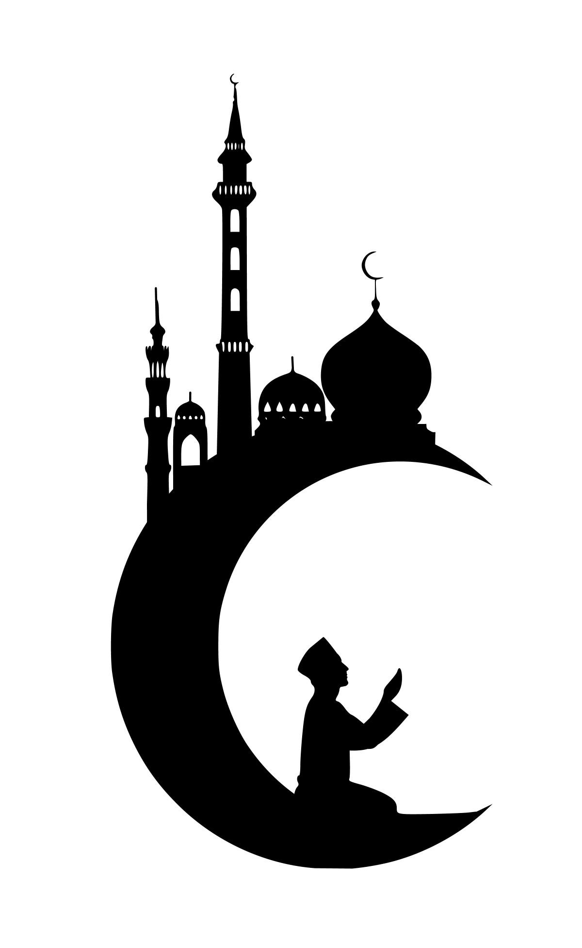 Free Images : ramadan, kareem, moon, masjid, eid, arabic ...