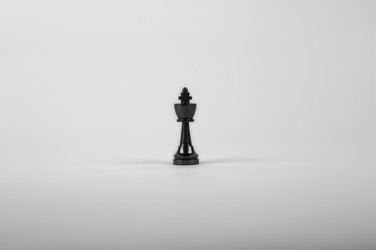 無料画像 チェス キング 白色の背景 勝利 影 黒と白 モノクロ