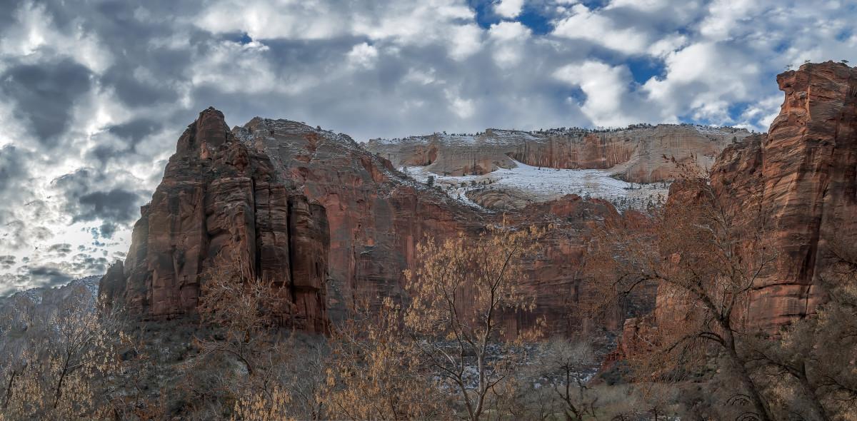 Zion National Park, Utah, USA. Stock Image - Image of