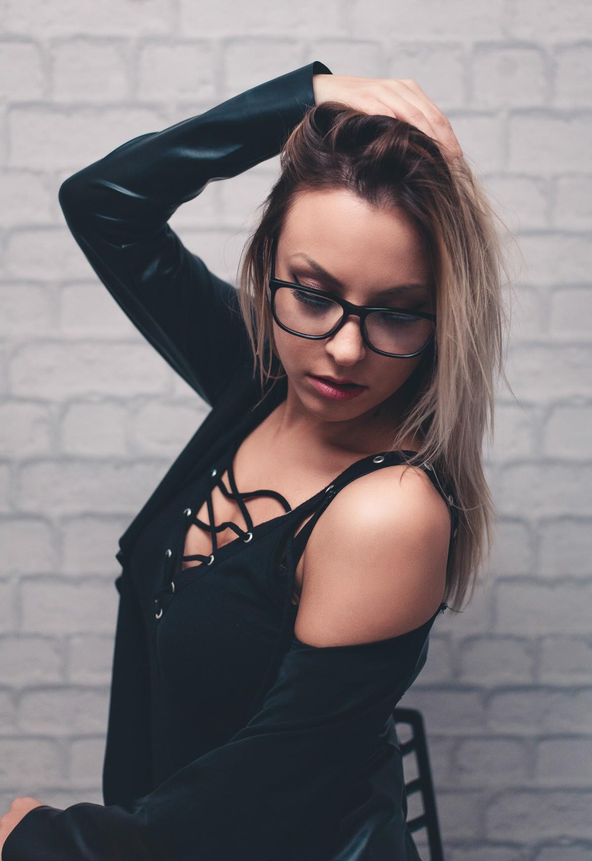 Sex Utgjør Av Sexy Naken Kvinne