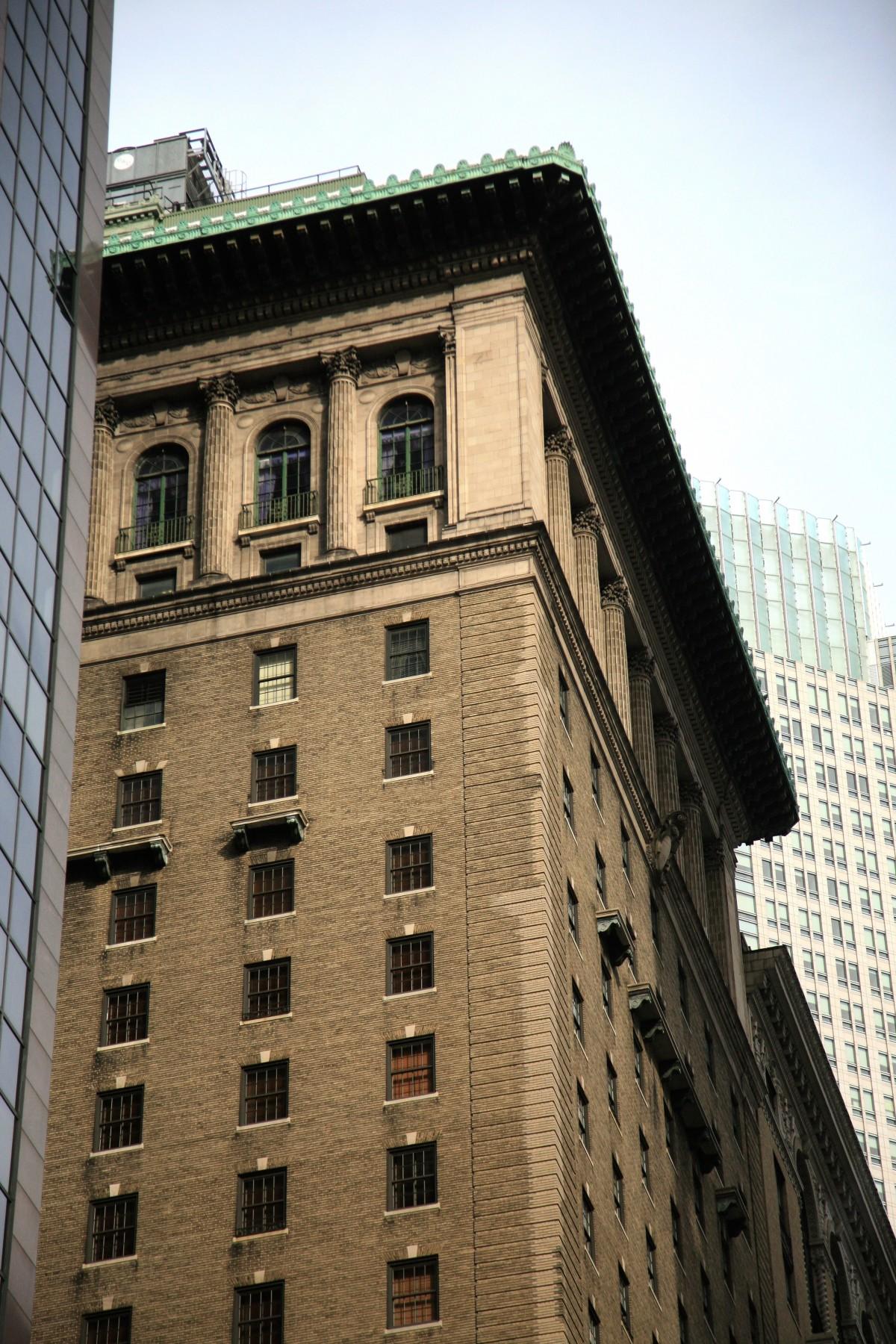 Images gratuites architecture maison centre ville nyc for Building sans fenetre new york