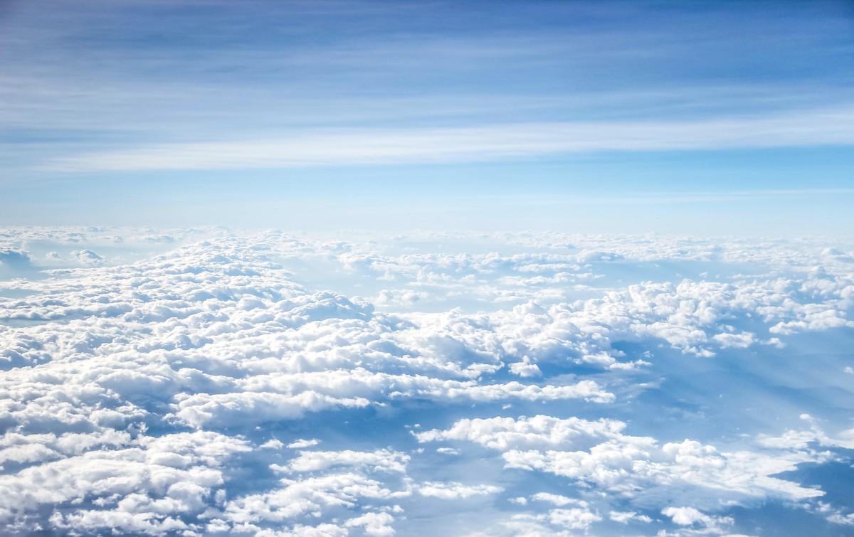 Free Images : Horizon, Sky, White, Sunlight, Mountain