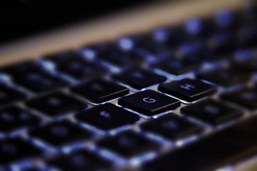 Mac,difuminar,teclado,tecnología,número,negro