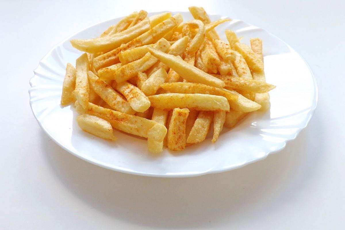 Картофель фри чипсы картинка