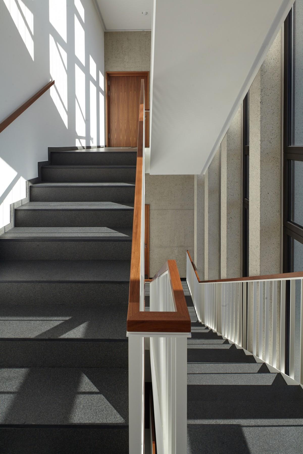 Architecture Wood Floor Office Indoor Facade