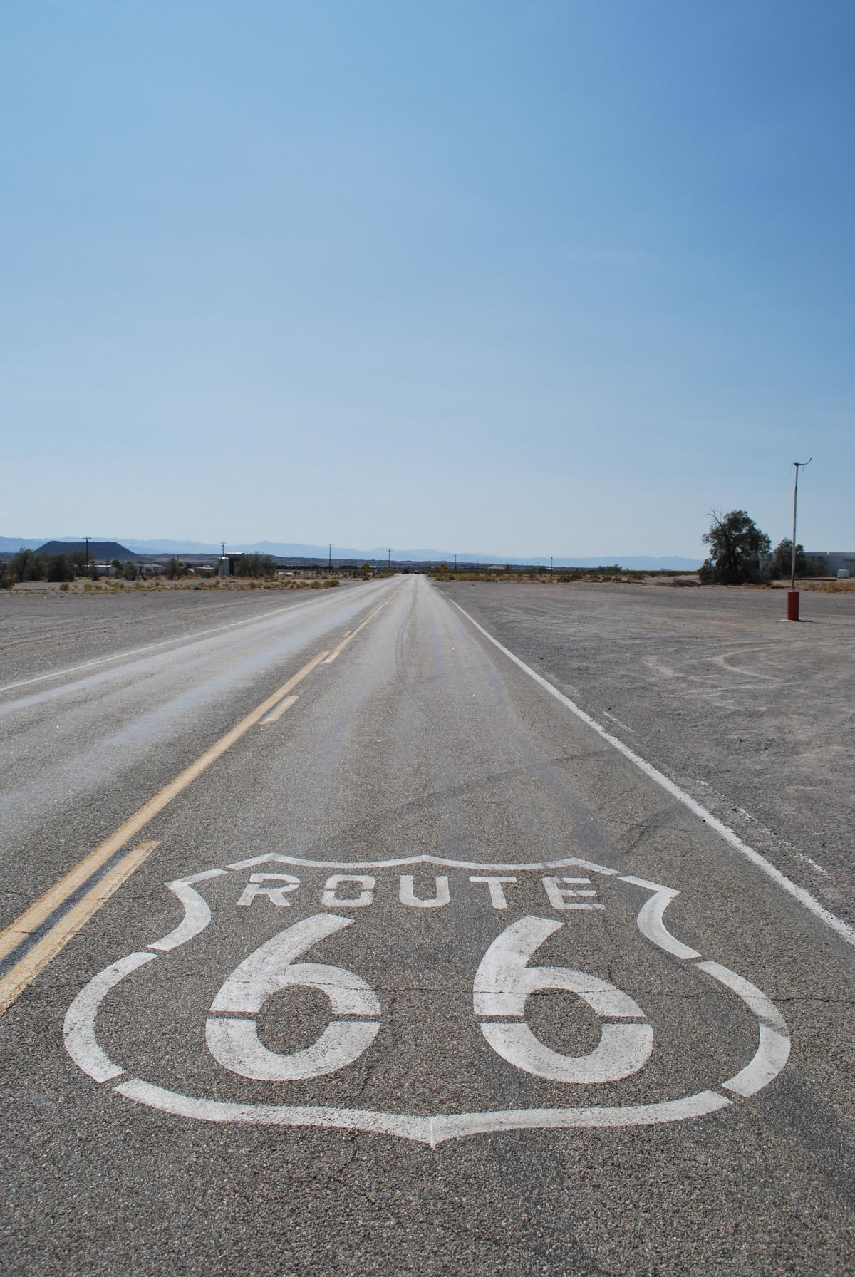 road highway asphalt walkway line usa Free