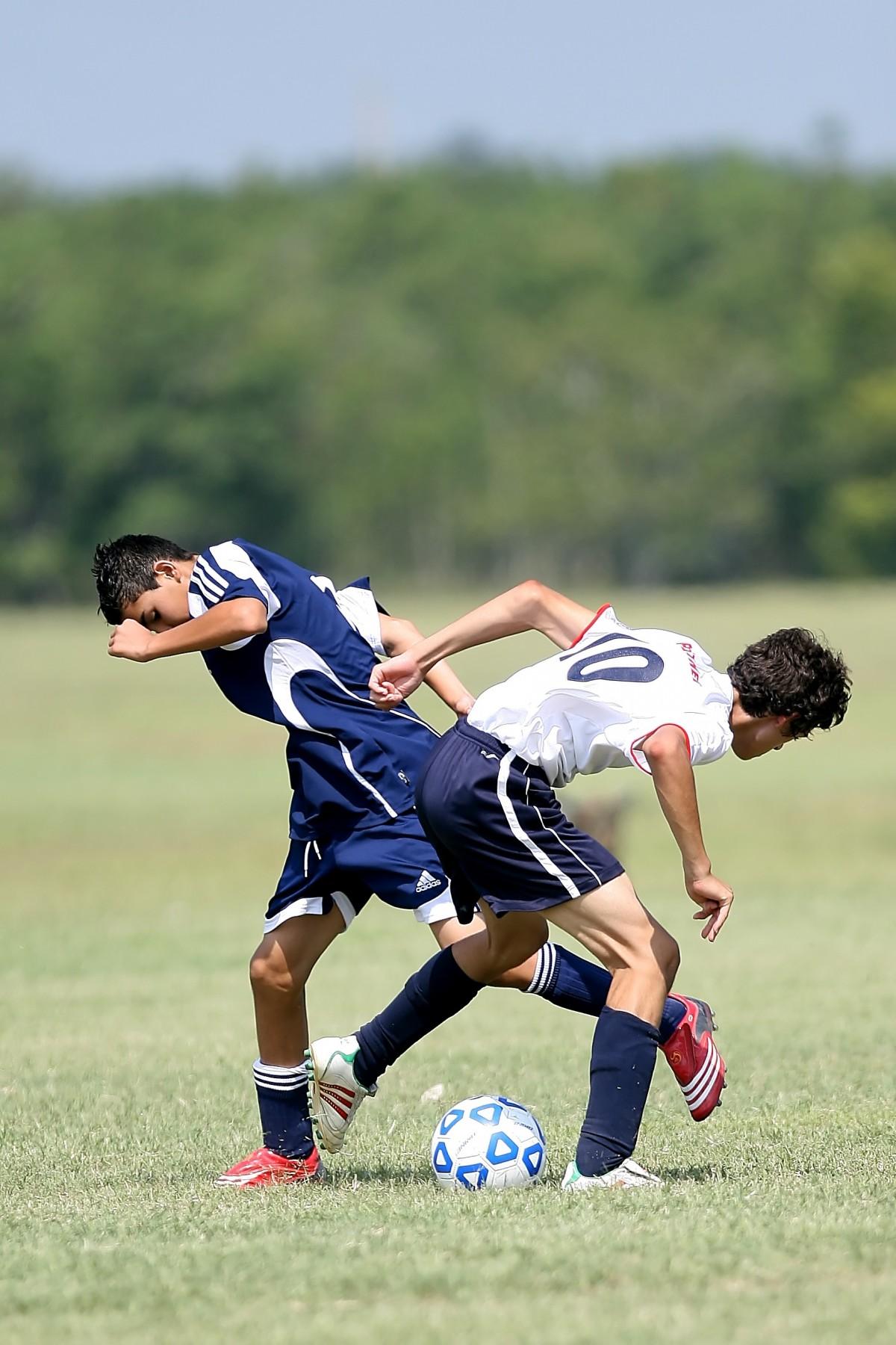 Grass, Sport, Field, Game, Boy, Summer