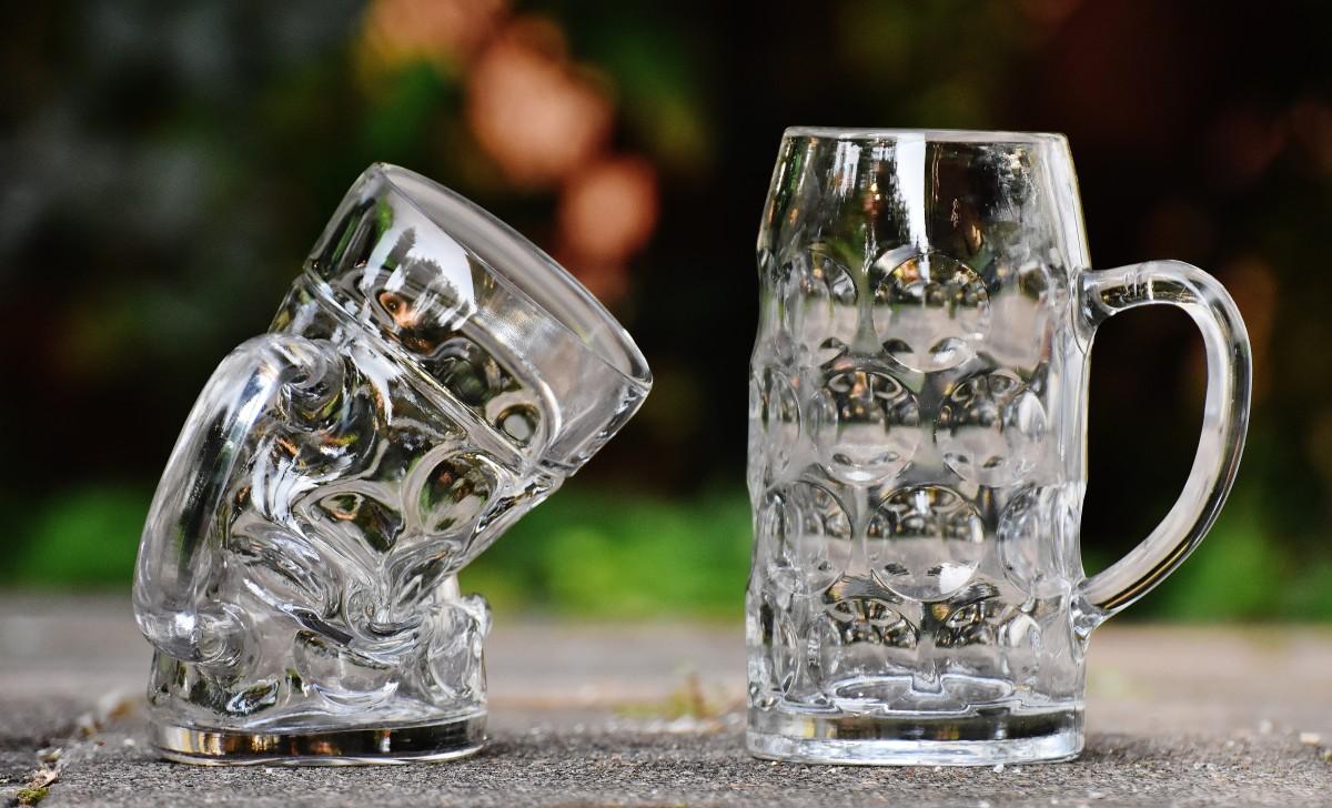 стакан напиток Бутылка Кружка Ювелирные изделия Серебряный веселая Кристалл Октоберфест Деформированный пивная кружка стакан для питья Пивные кружки Перегиб Большое стекло Дистиллированный напиток Питьё