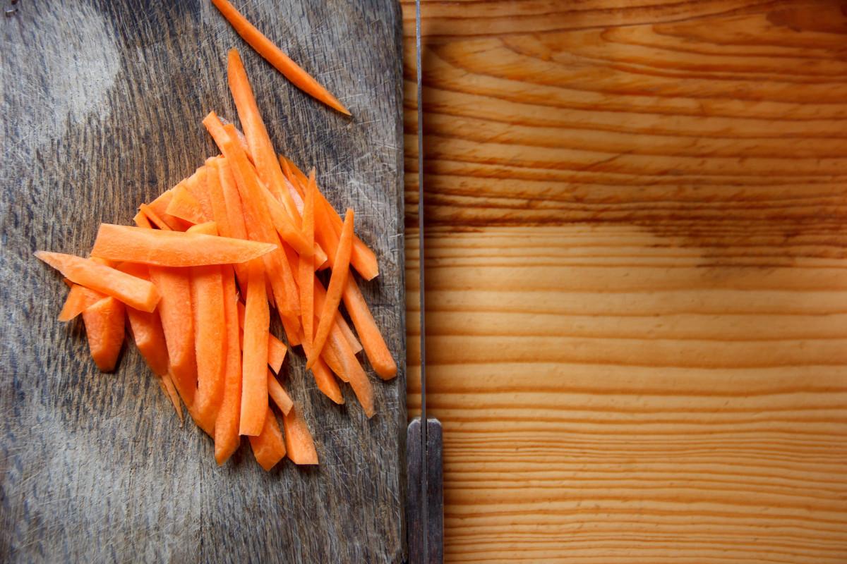 Как сделать корейскую морковку как у корейцев
