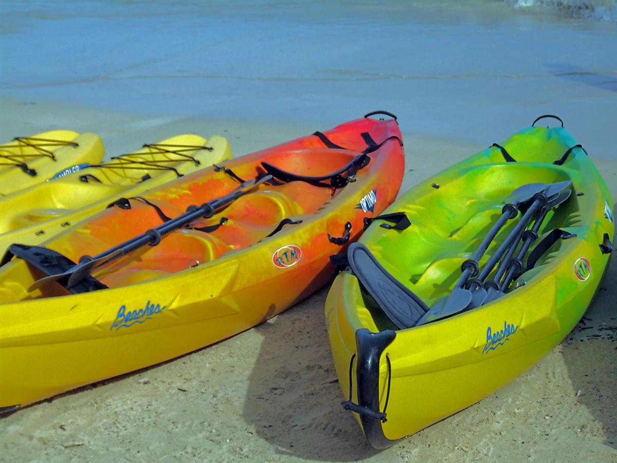 лодки байдарки спорт
