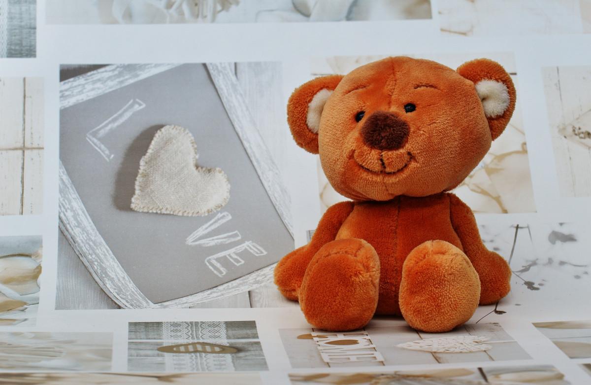 Доброго утра медвежонок - Доброе утро - Анимационные блестящие картинки GIF 15