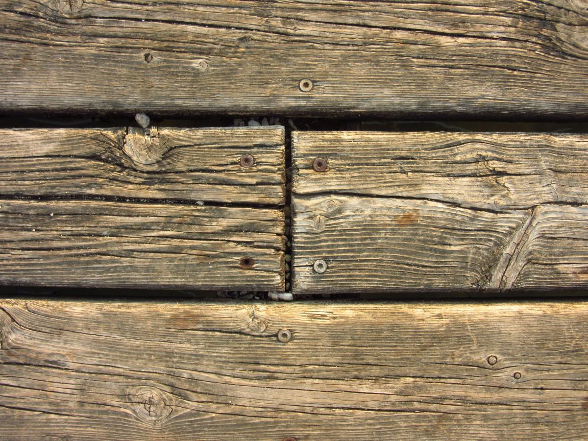 wood floor and wall background. wood grain texture plank floor trunk and wall background