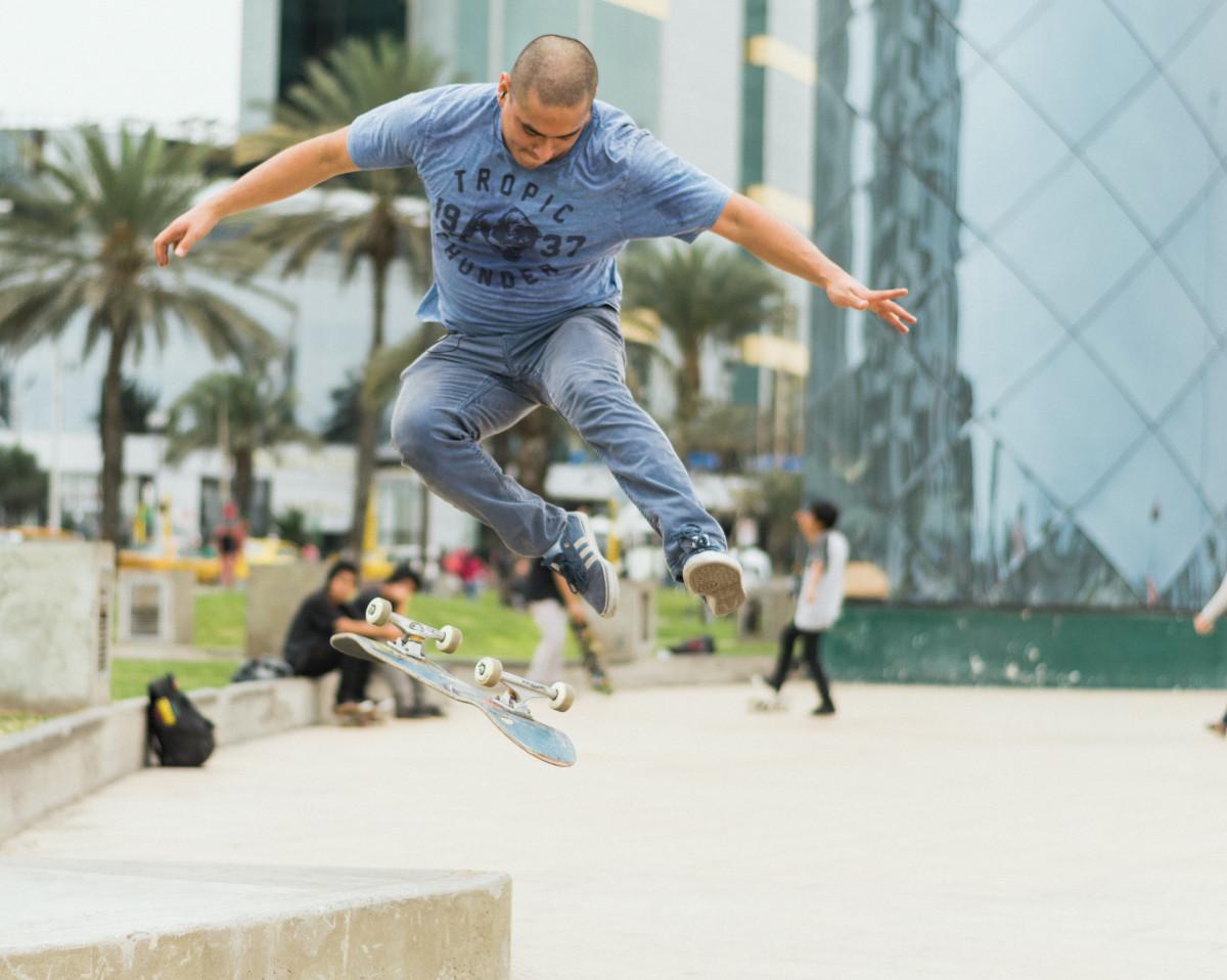 Skateboard Spiel