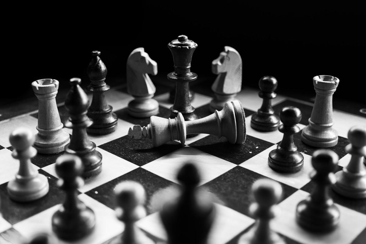 szachy Gry kryte gry i sport gra planszowa szachownica czarny i biały Blat gry monochromia rekreacja Monochromatyczna fotografia martwa natura
