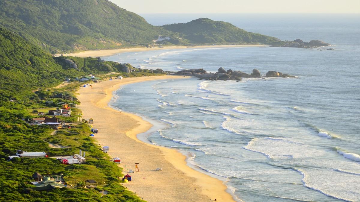 praia mole praia galheta florianopolis