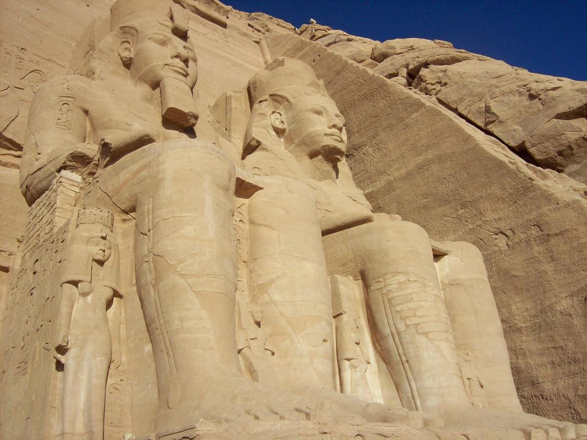Free Images Rock Monument Egypt Sculpture Temple