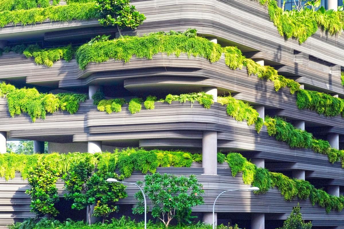 Architecture Flower Building Park Facade Botany