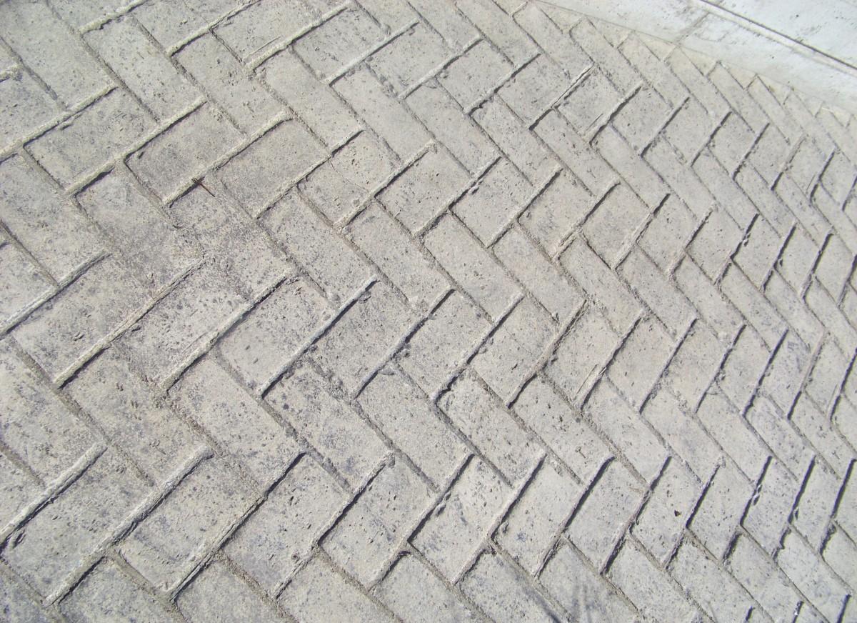 Free images ground sidewalk floor roof cobblestone for Exterior brick design patterns