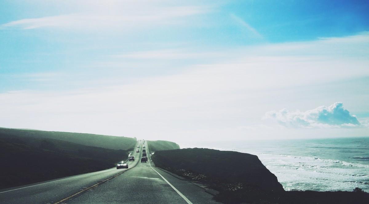 дорога море картинки