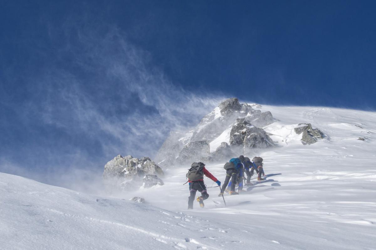 free images landscape snow wind mountain range. Black Bedroom Furniture Sets. Home Design Ideas