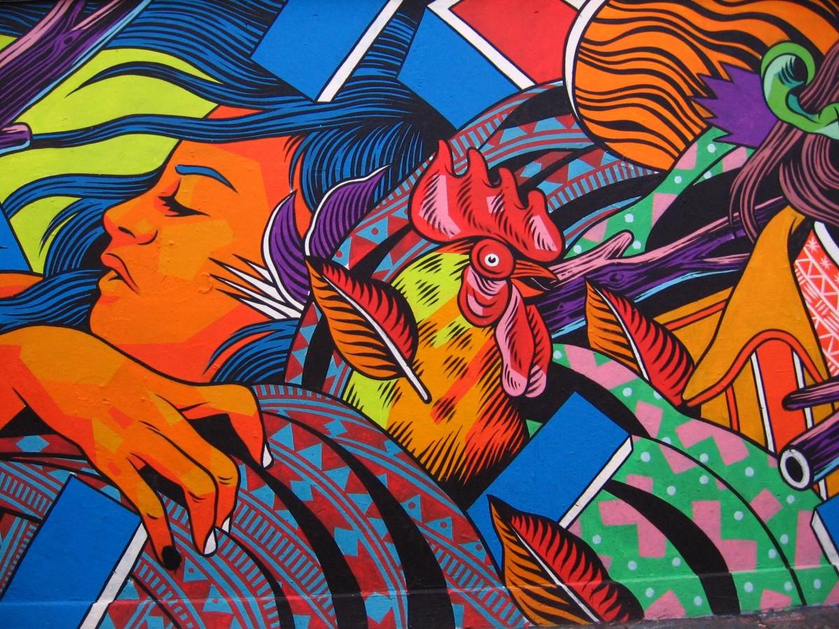 Citaten Kunst Yang Bagus : Gambar warna kotak warni fiksi lukisan dinding