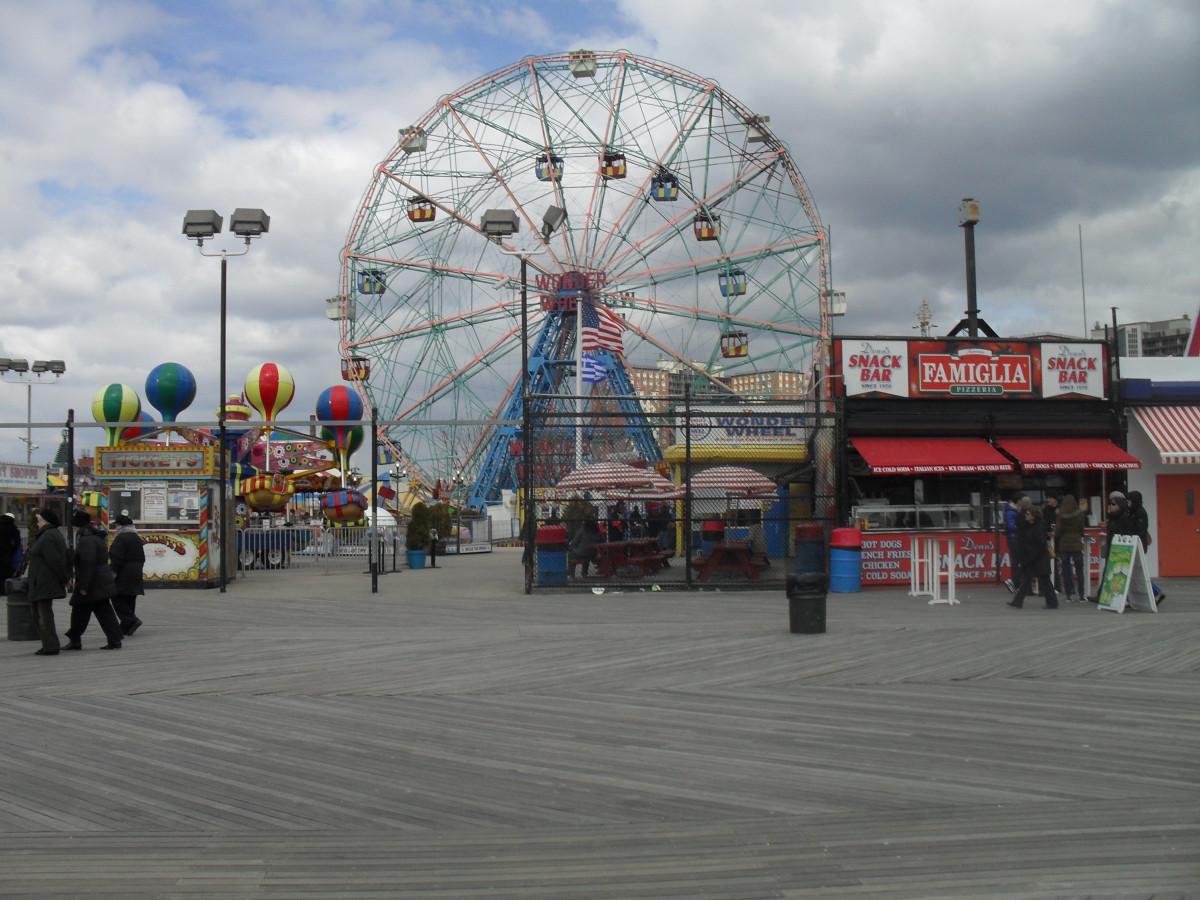 Coney Island Boardwalk Games S