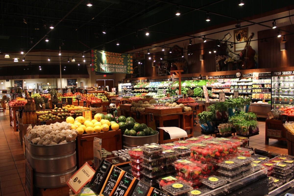 Безплатна снимка : град, хранене, продукция, САЩ, пазаруване ...