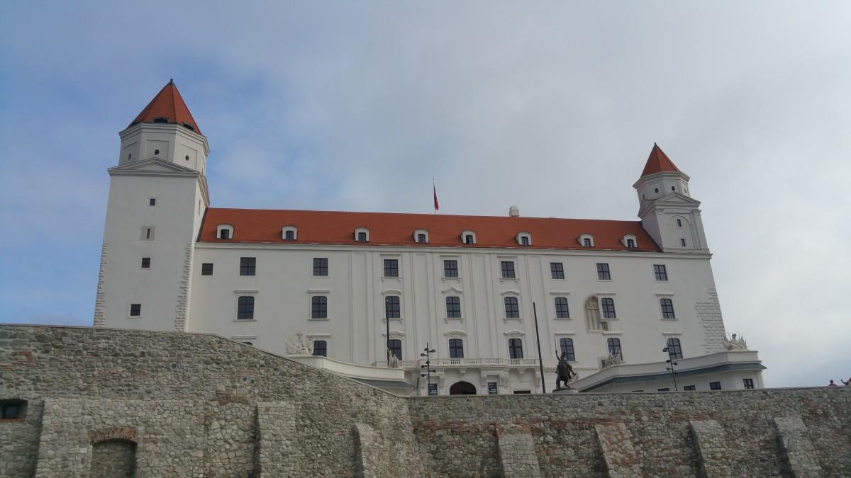 building chateau tower castle fortification monastery bratislava slovakia bratislava castle
