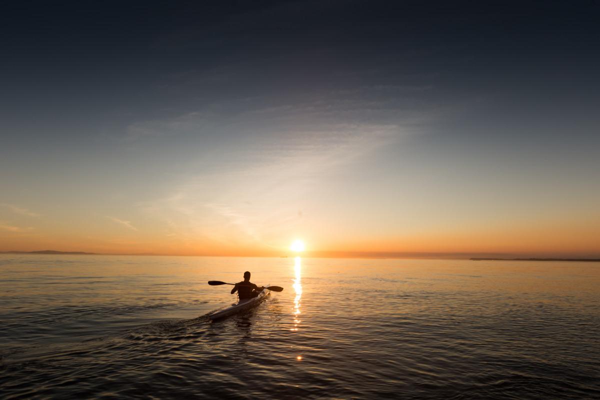 Free Images : man, beach, sea, coast, ocean, horizon ...