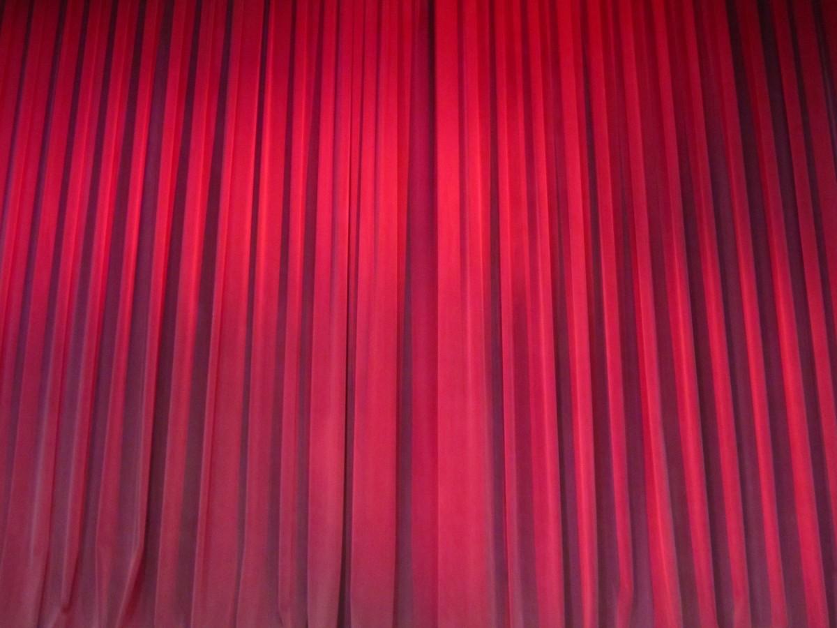 Stage curtain wallpaper curtain designs -  Stage Design Theater Curtain Stage Curtain Light Texture Auditorium Interior Line Red