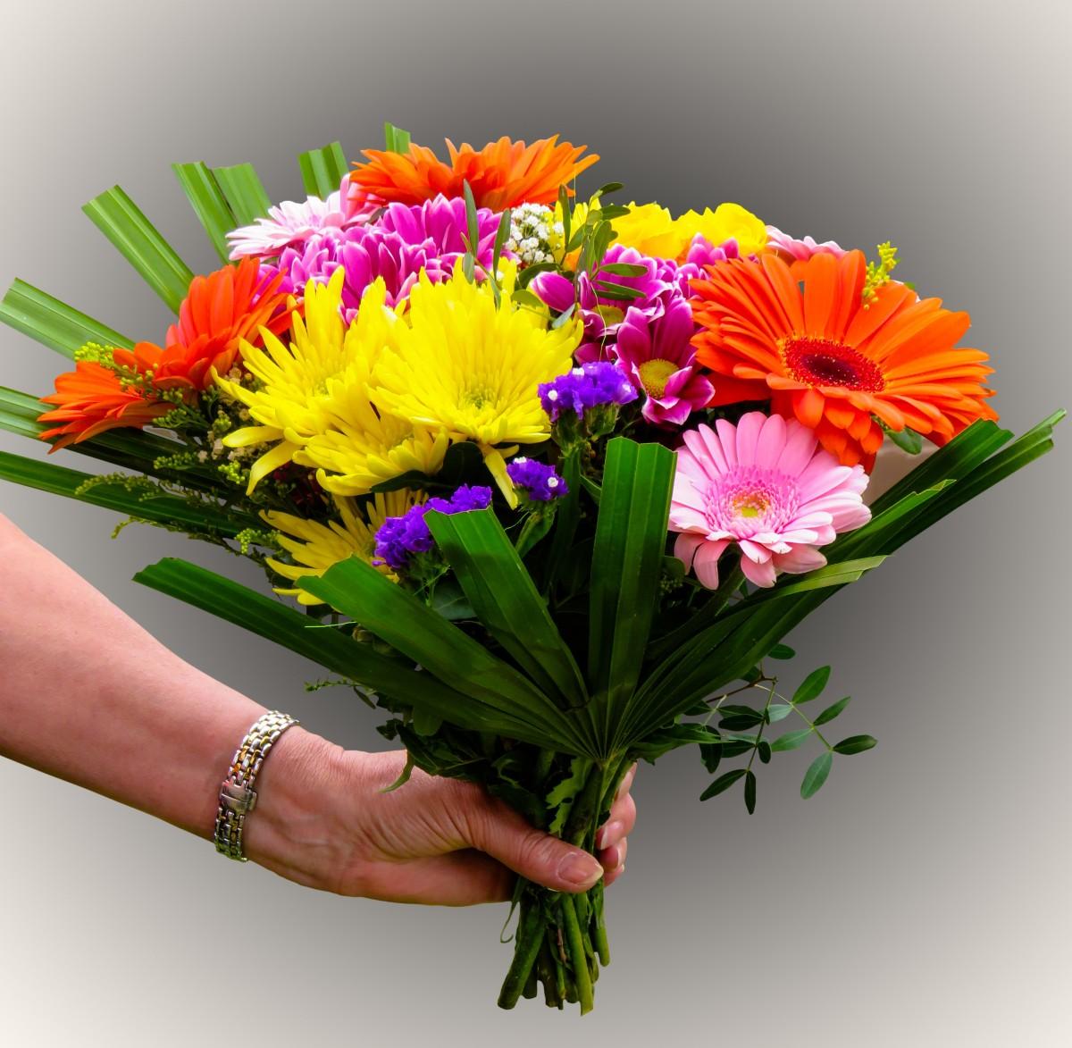 Днем рождения, картинки спасибо букеты цветов