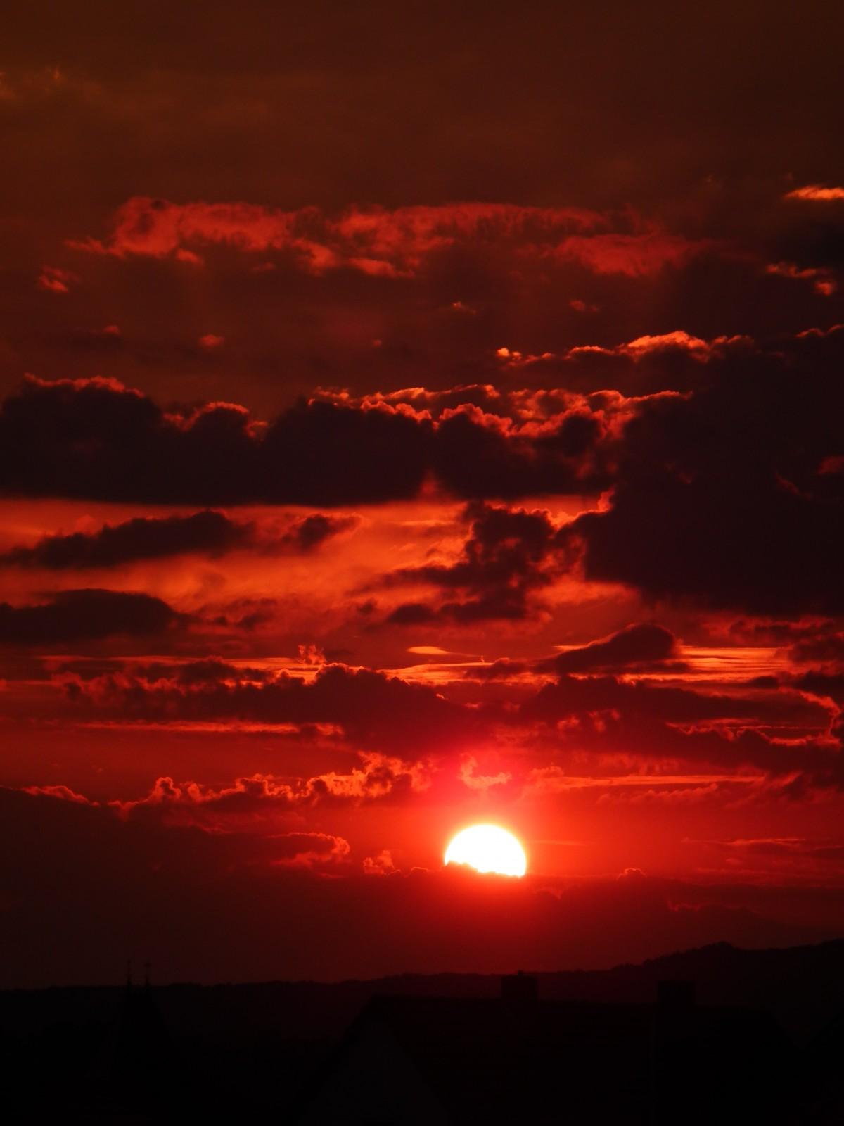 Free Images : horizon, cloud, sunrise, sunset, dawn ...