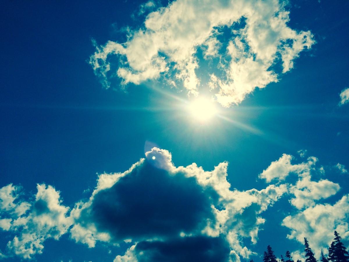 Спасибо родители, красивые открытки облака