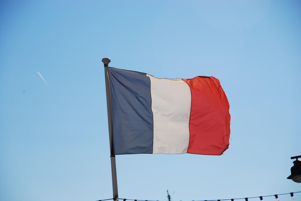 free images sky wind france color blue nation red flag
