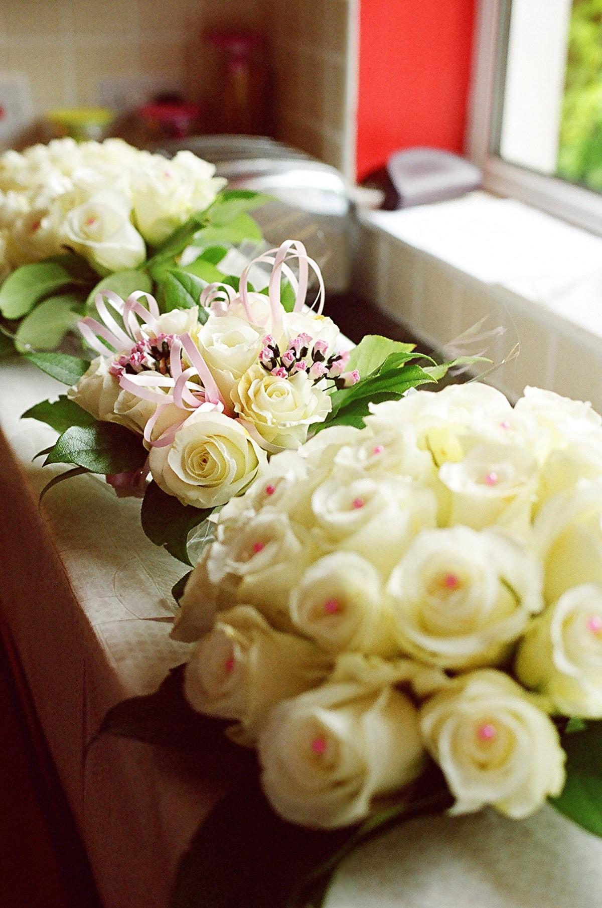 menanam bunga daun bunga buket dekorasi percintaan