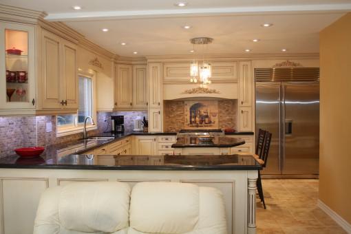 地板,家,天花板,厨房,属性,客厅