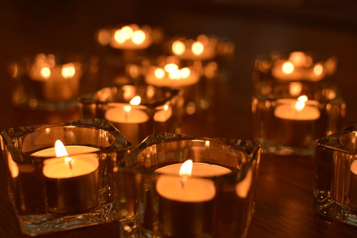 свечи фото красивые сажать